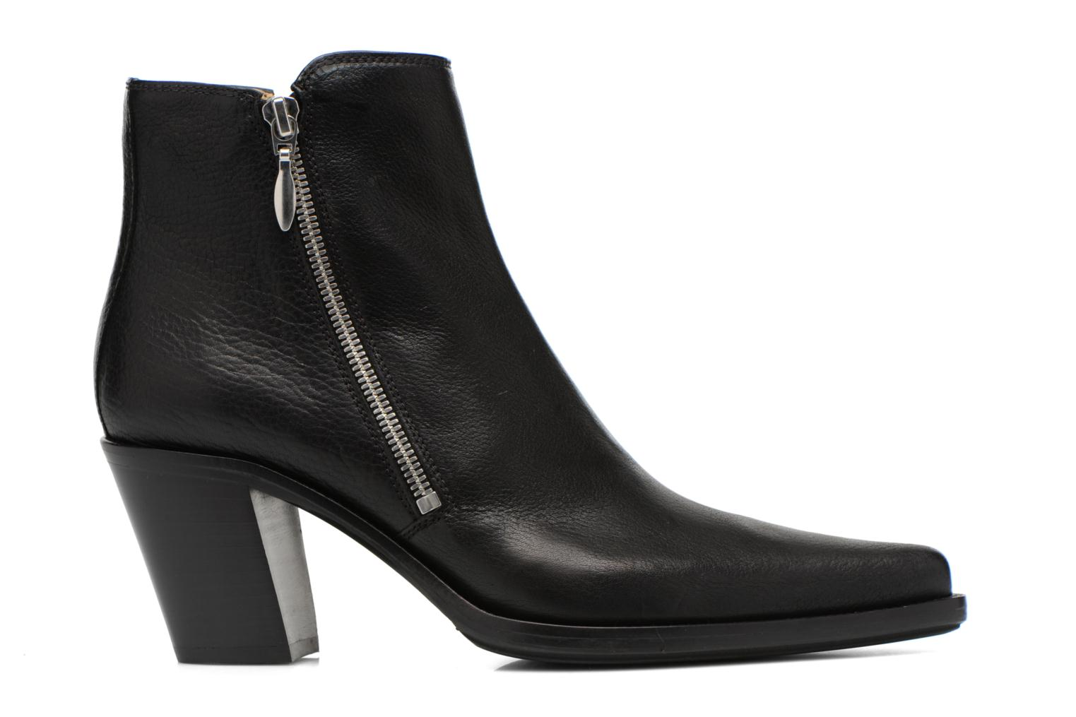 Ankle boots Free Lance Okao 7 Boot 2 Zip Black back view