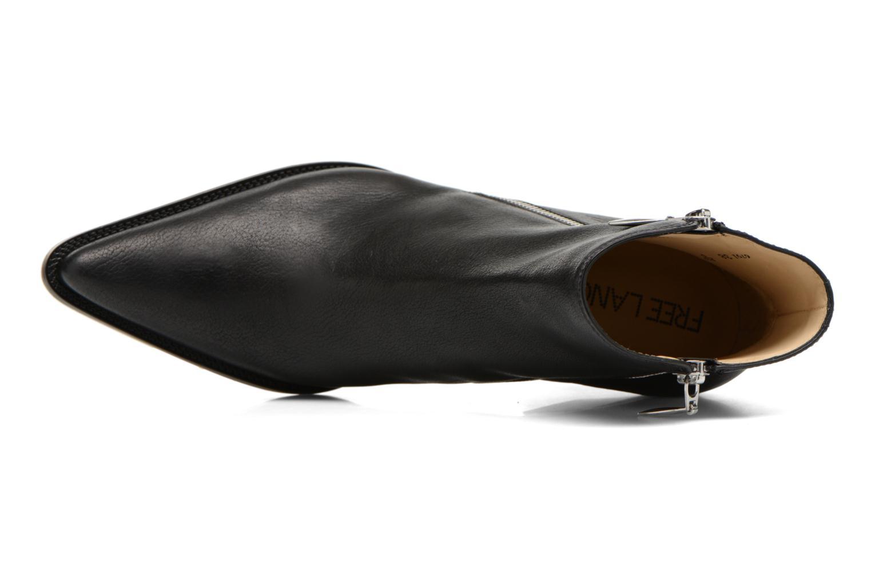 Botines  Free Lance Okao 7 Boot 2 Zip Negro vista lateral izquierda