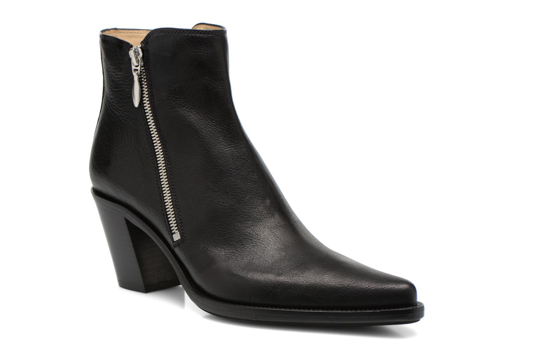 Bottines et boots Free Lance Okao 7 Boot 2 Zip Noir vue détail/paire