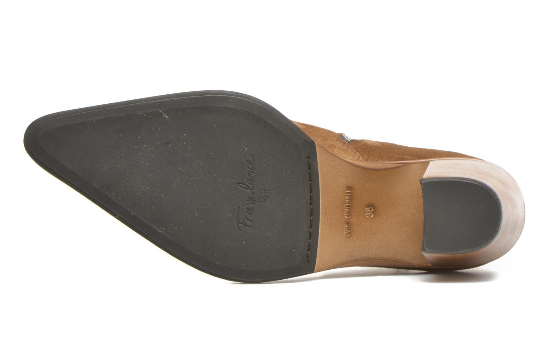 Bottines et boots Free Lance Okao 7 Boot 2 Zip Marron vue haut