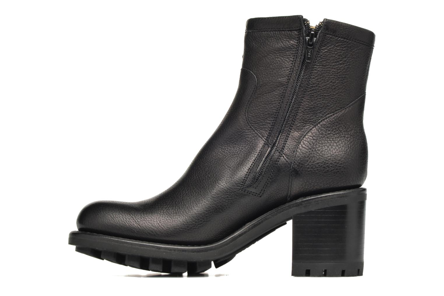 Ankle boots Free Lance Justy 7 Small Gero Buckle Black front view