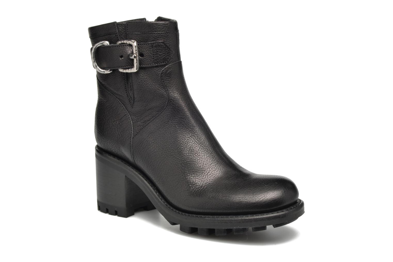 Bottines et boots Free Lance Justy 7 Small Gero Buckle Noir vue détail/paire