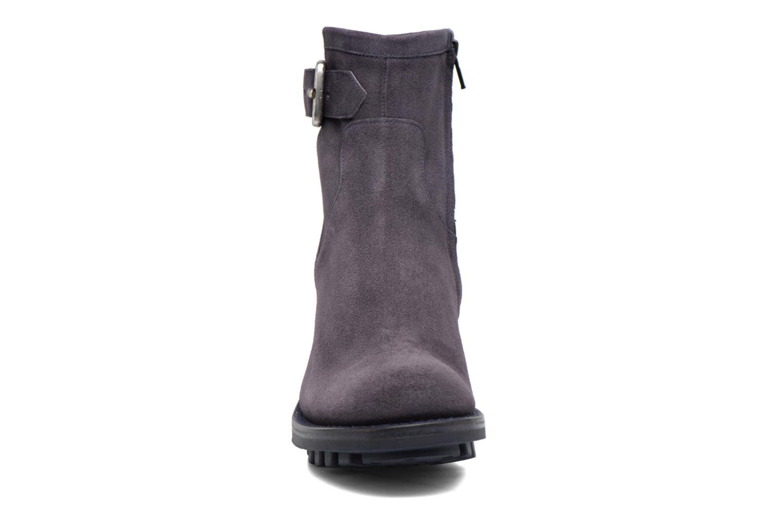 Bottines et boots Free Lance Justy 7 Small Gero Buckle Bleu vue portées chaussures