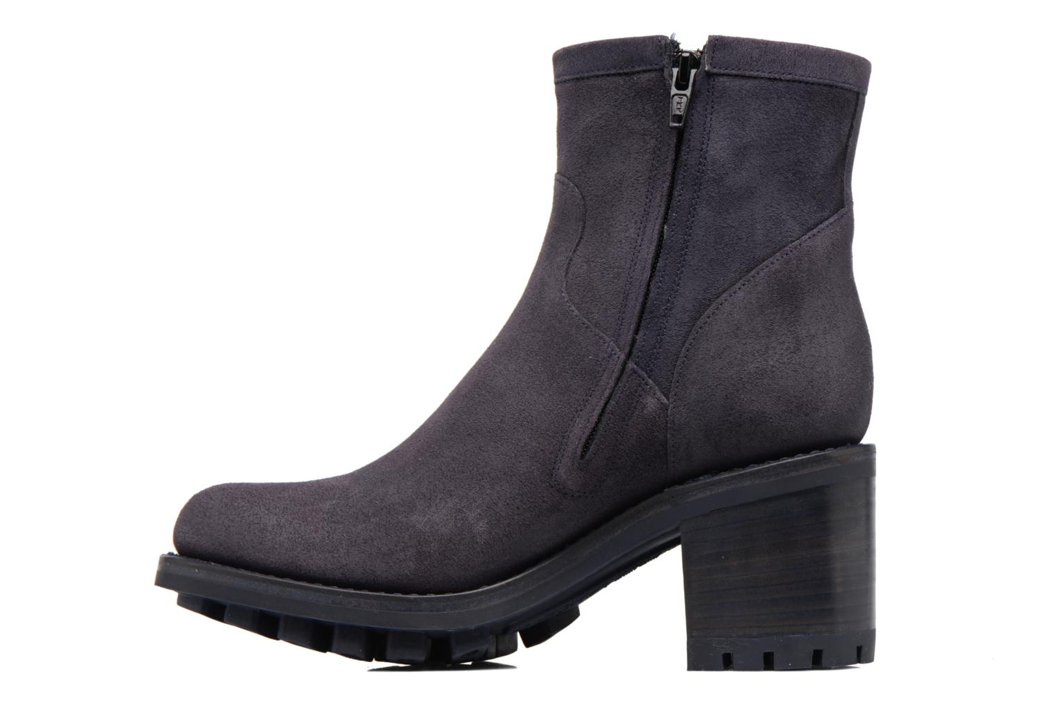Ankle boots Free Lance Justy 7 Small Gero Buckle Blue front view