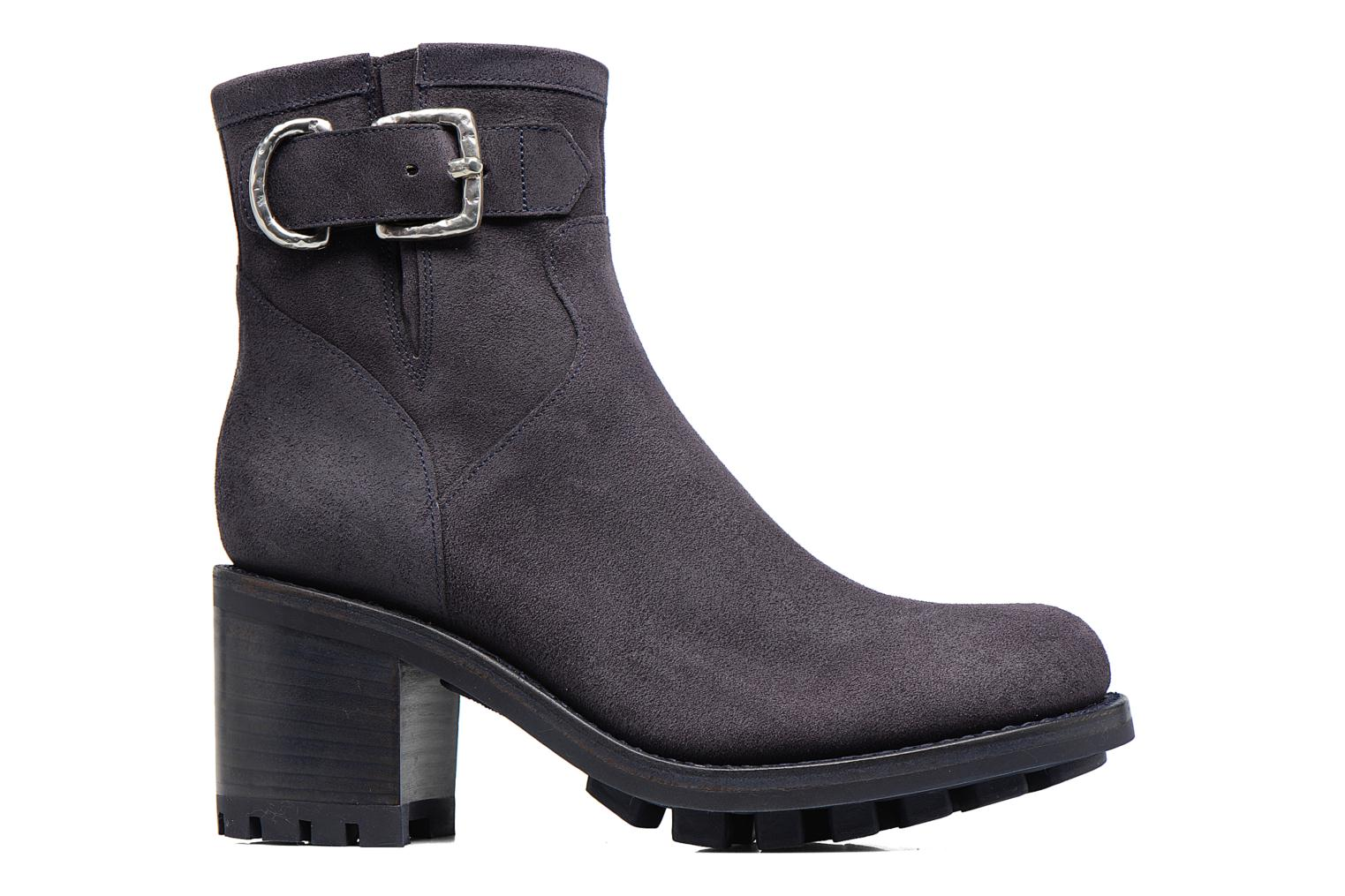 Ankle boots Free Lance Justy 7 Small Gero Buckle Blue back view