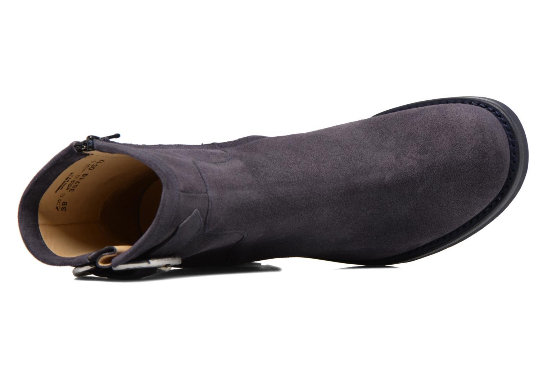 Bottines et boots Free Lance Justy 7 Small Gero Buckle Bleu vue gauche