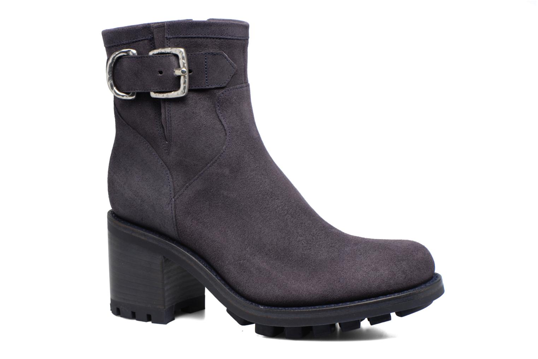 Bottines et boots Free Lance Justy 7 Small Gero Buckle Bleu vue détail/paire
