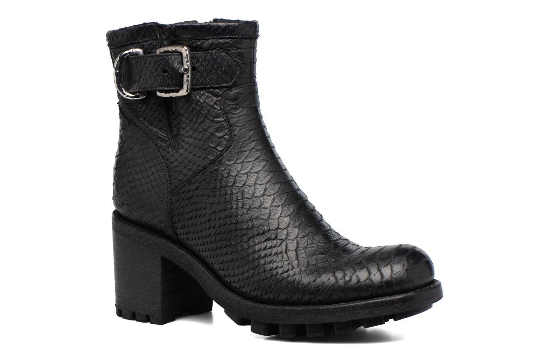 Boots en enkellaarsjes Free Lance Justy 7 Small Gero Buckle Zwart detail