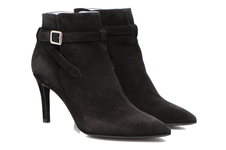 Bottines et boots Free Lance Itlys 7 Boot Ankle Strap Noir vue 3/4