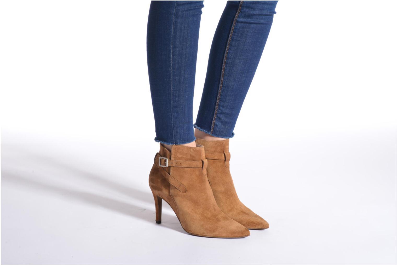 Bottines et boots Free Lance Itlys 7 Boot Ankle Strap Noir vue bas / vue portée sac