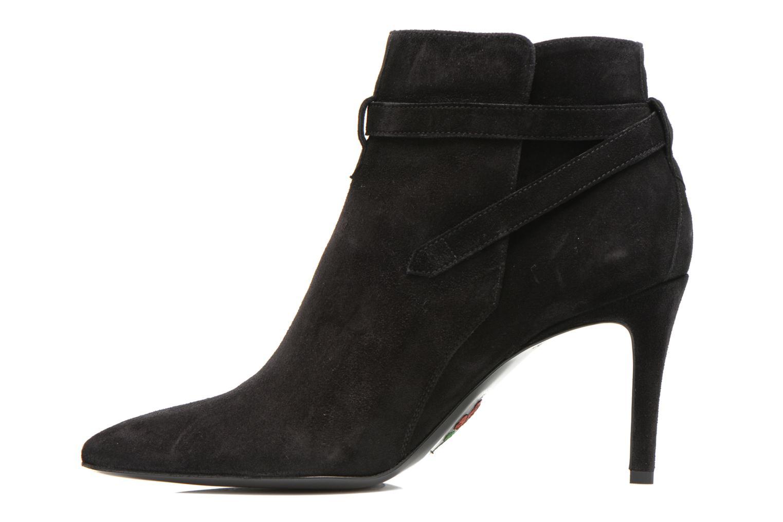 Bottines et boots Free Lance Itlys 7 Boot Ankle Strap Noir vue face