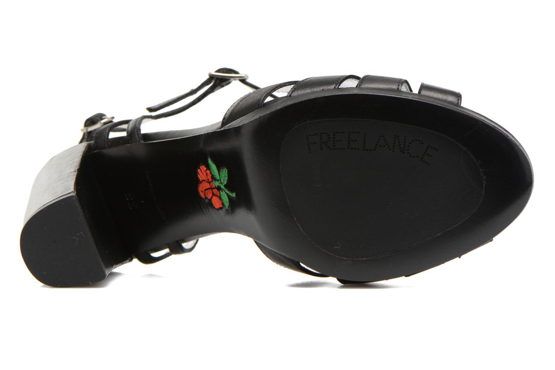 Sandalen Free Lance Kerry 7 Sandal 2 Buckles schwarz ansicht von oben