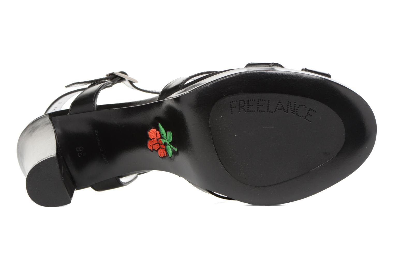 Sandalen Free Lance Eve 7 Sandal schwarz ansicht von oben