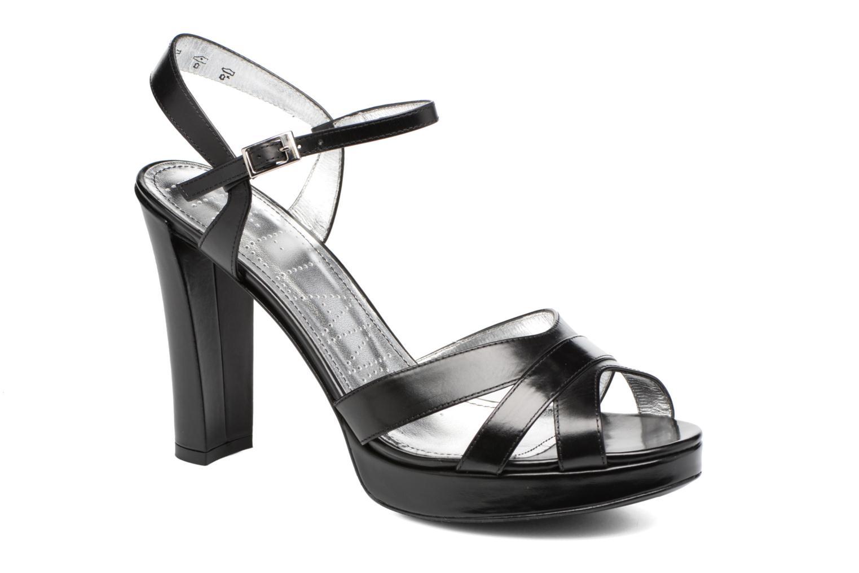Sandales et nu-pieds Free Lance Eve 7 Sandal Noir vue détail/paire