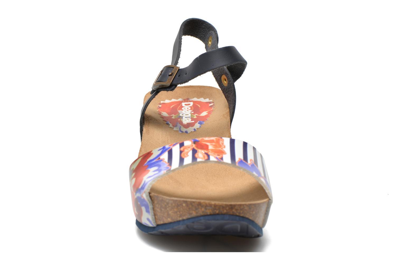 Sandales et nu-pieds Desigual SHOES_BIO 7 Multicolore vue portées chaussures