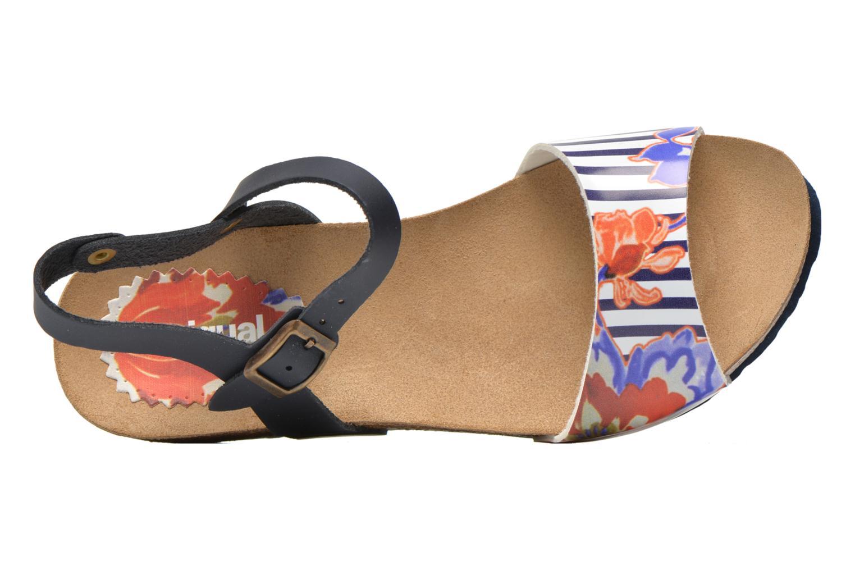 Sandales et nu-pieds Desigual SHOES_BIO 7 Multicolore vue gauche