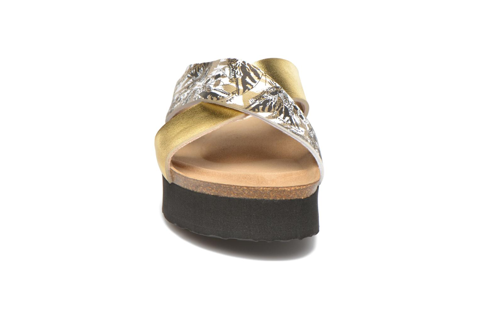 Wedges Desigual SHOES_BIO 10 MEGARA 3 Goud en brons model