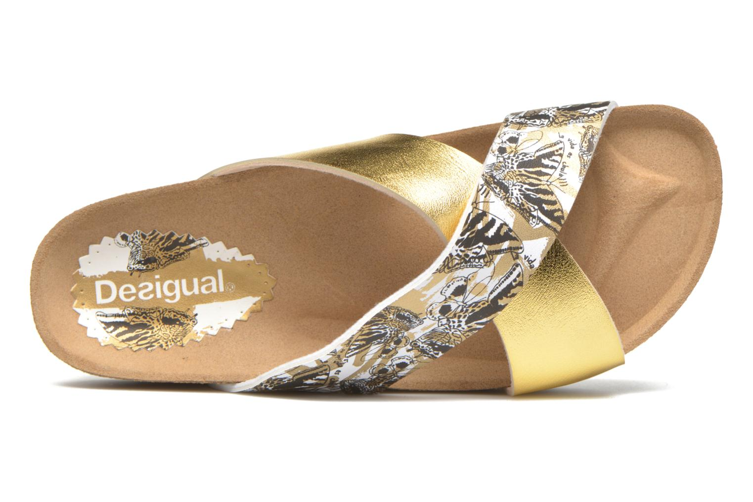 Wedges Desigual SHOES_BIO 10 MEGARA 3 Goud en brons links