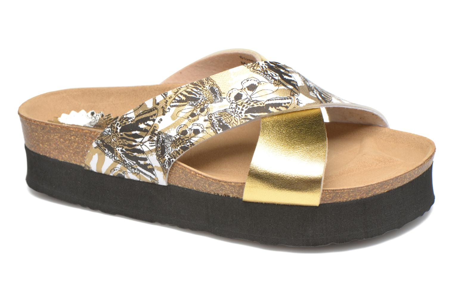 Wedges Desigual SHOES_BIO 10 MEGARA 3 Goud en brons detail