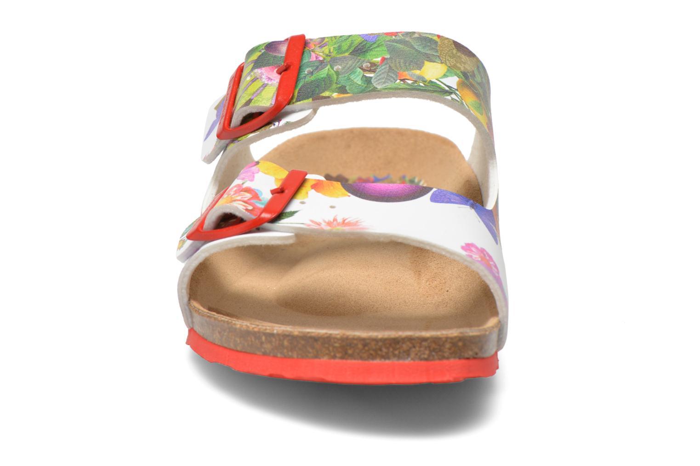 Mules et sabots Desigual SHOES_BIO 2 Multicolore vue portées chaussures