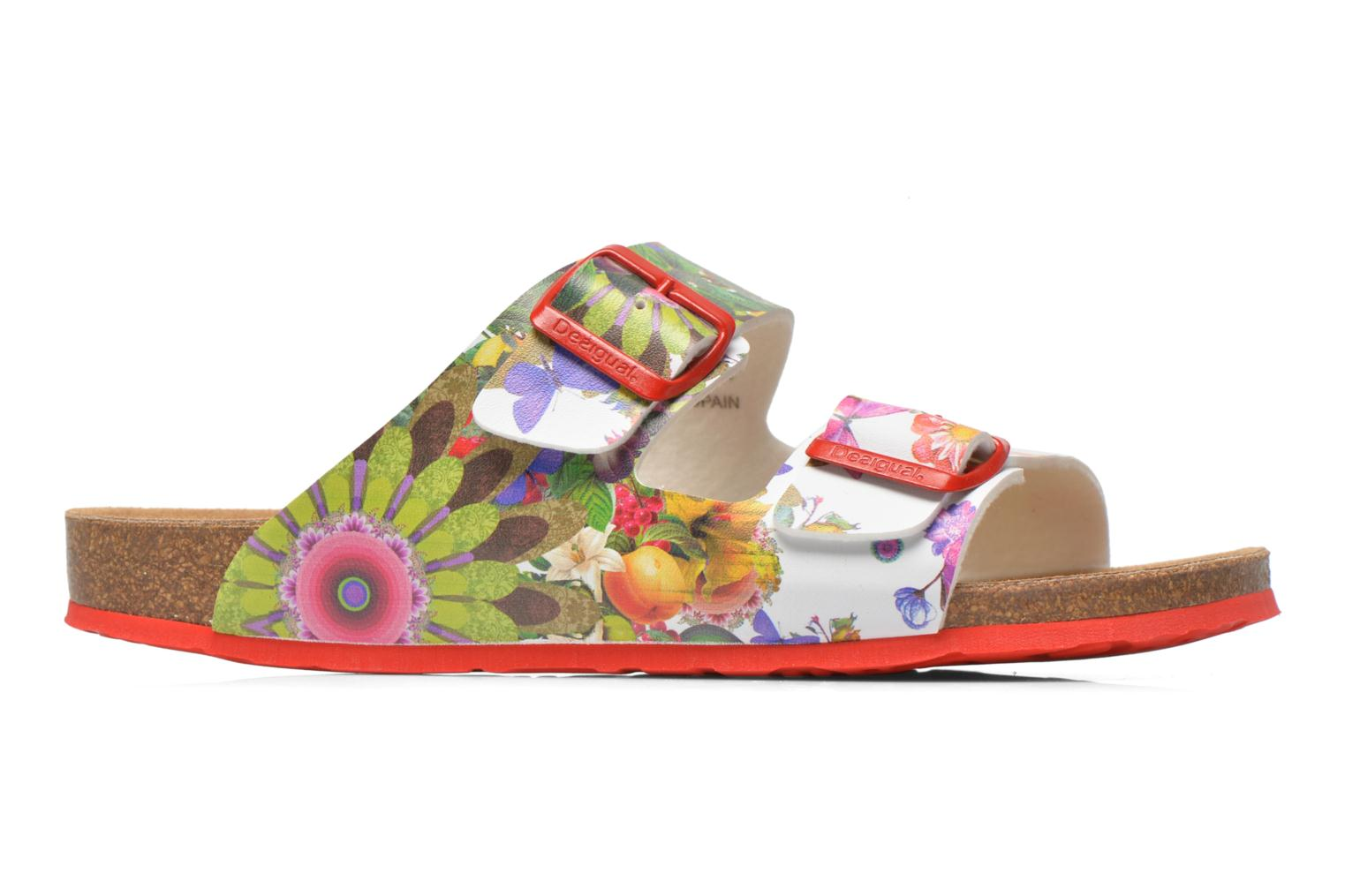 Zuecos Desigual SHOES_BIO 2 Multicolor vistra trasera