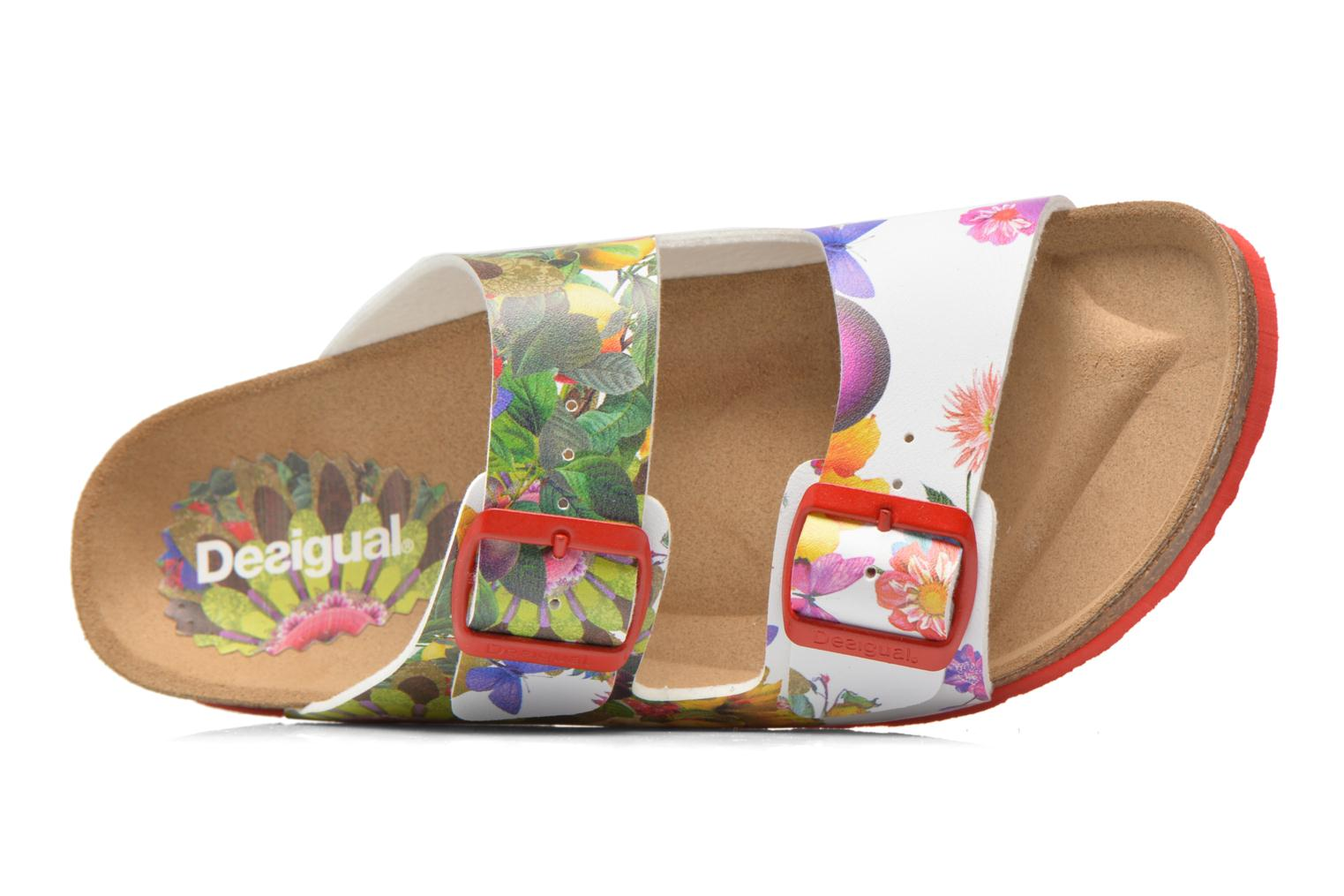 Zuecos Desigual SHOES_BIO 2 Multicolor vista lateral izquierda