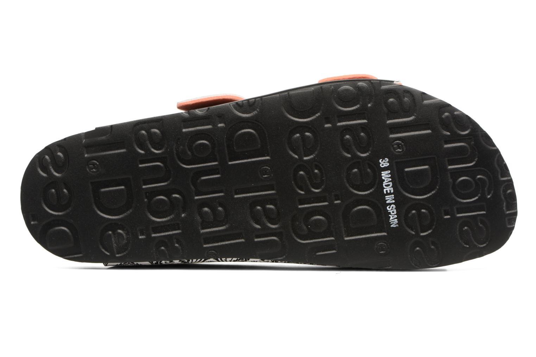 Clogs & Pantoletten Desigual SHOES_BIO 2 schwarz ansicht von oben