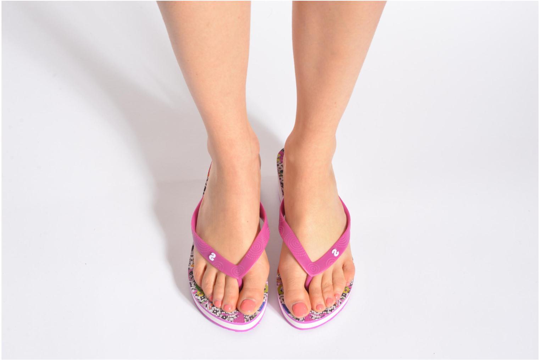 Zehensandalen Desigual SHOES_LOLA 2 rosa ansicht von unten / tasche getragen
