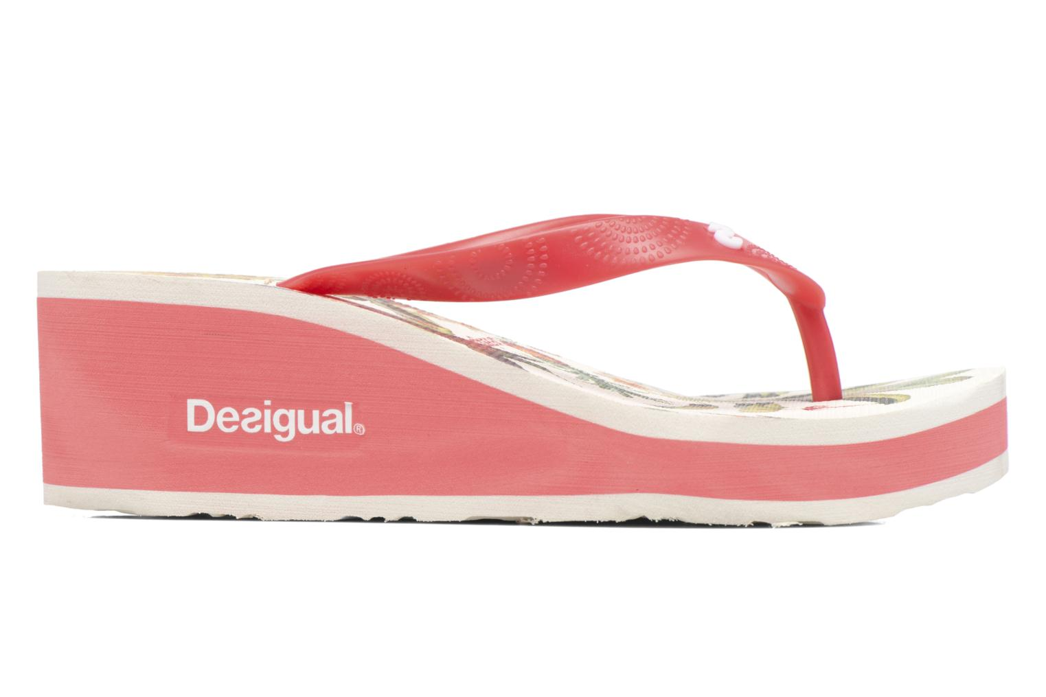 Flip flops Desigual SHOES_LOLA Multicolor back view