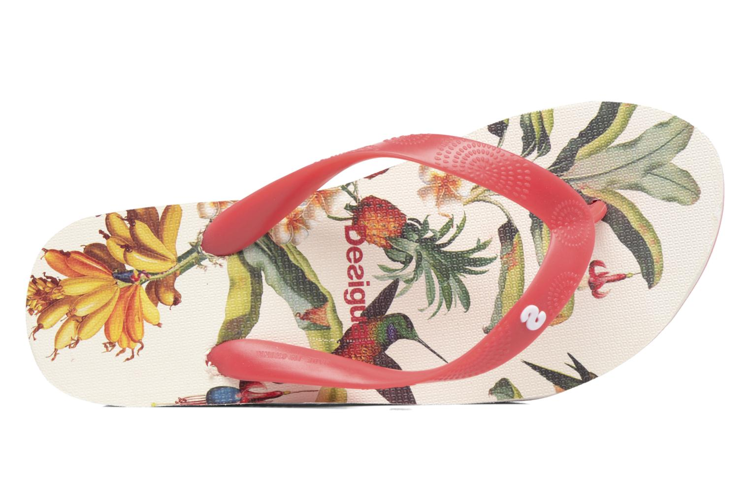 Flip flops Desigual SHOES_LOLA Multicolor view from the left