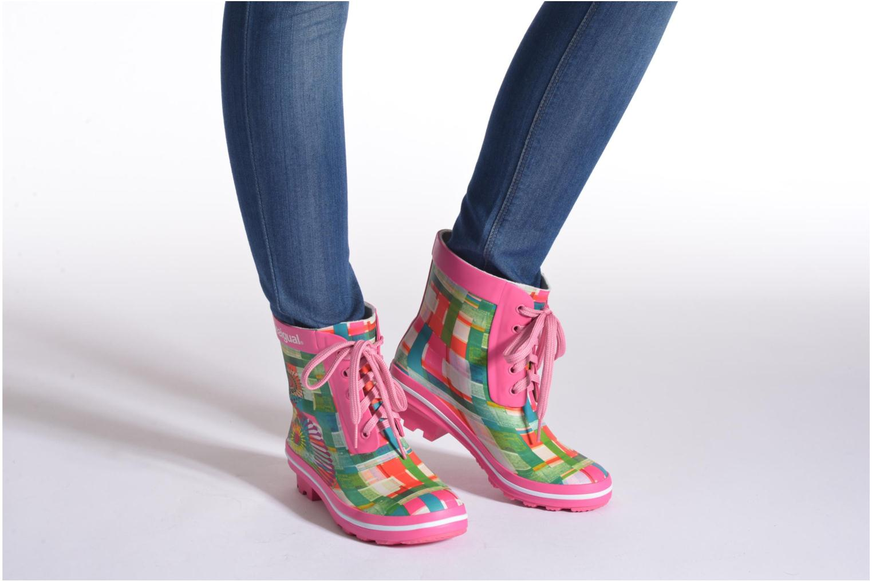 Stiefeletten & Boots Desigual SHOES_FAELA mehrfarbig ansicht von unten / tasche getragen