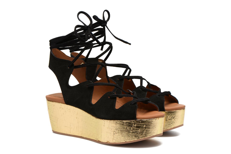 Sandals See by Chloé Ezima Black 3/4 view