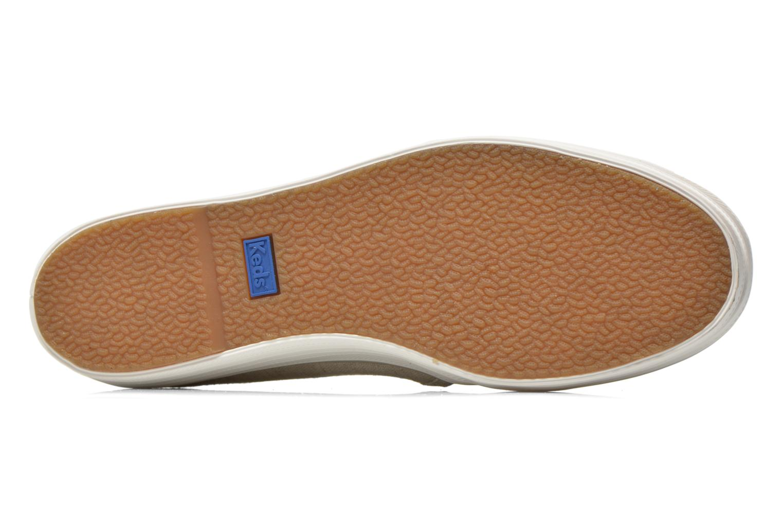 Sneakers Keds Triple decker Beige immagine dall'alto