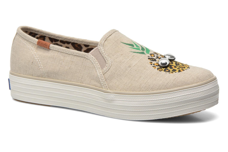 Sneakers Keds Triple decker Beige detaljeret billede af skoene