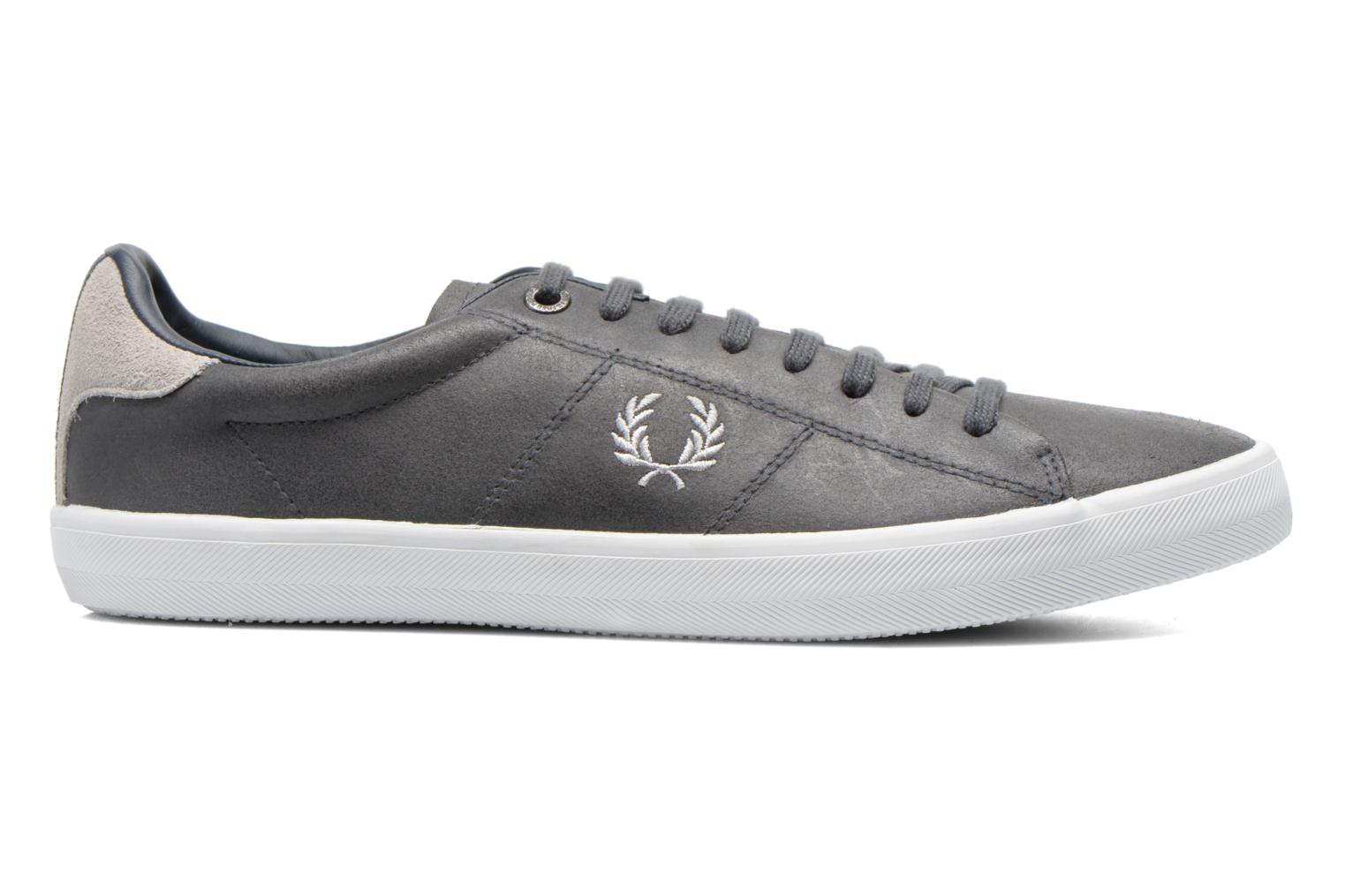 Baskets Fred Perry Howells leather Gris vue derrière