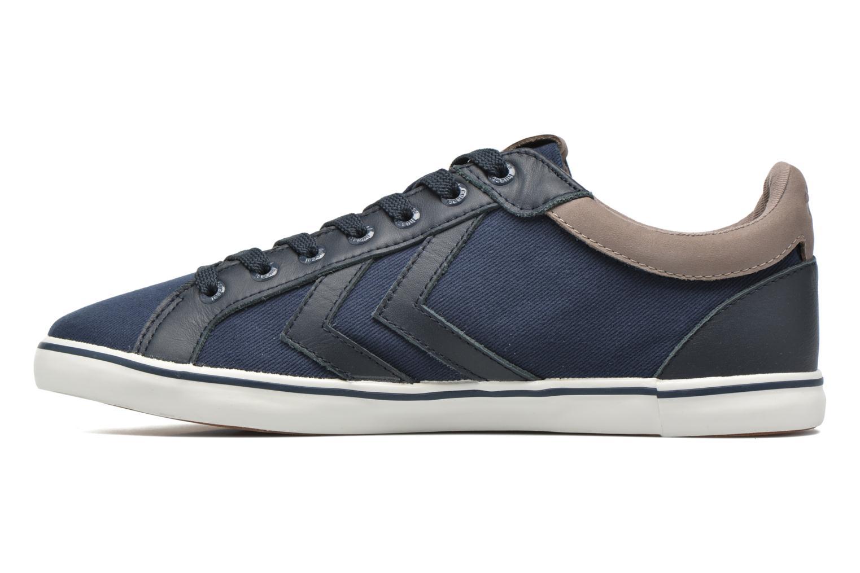 Sneaker Hummel Deuce Court Premium blau ansicht von vorne
