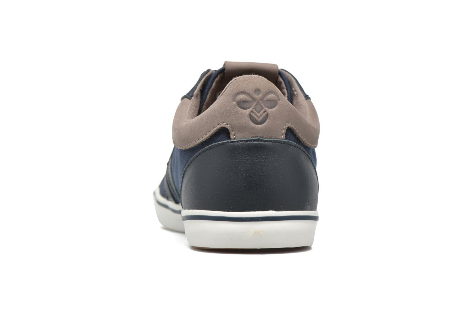 Trainers Hummel Deuce Court Premium Blue view from the right
