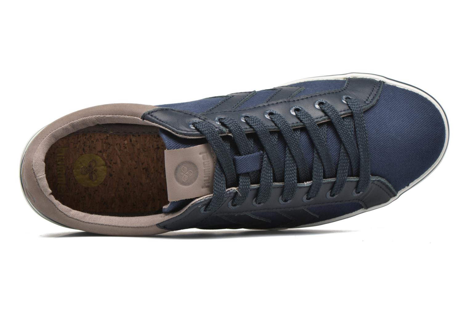 Trainers Hummel Deuce Court Premium Blue view from the left