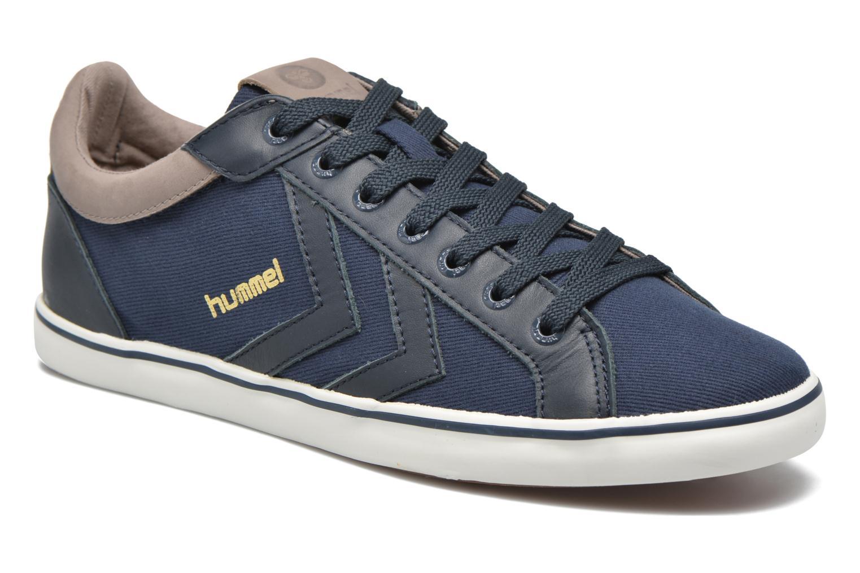 Baskets Hummel Deuce Court Premium Bleu vue détail/paire
