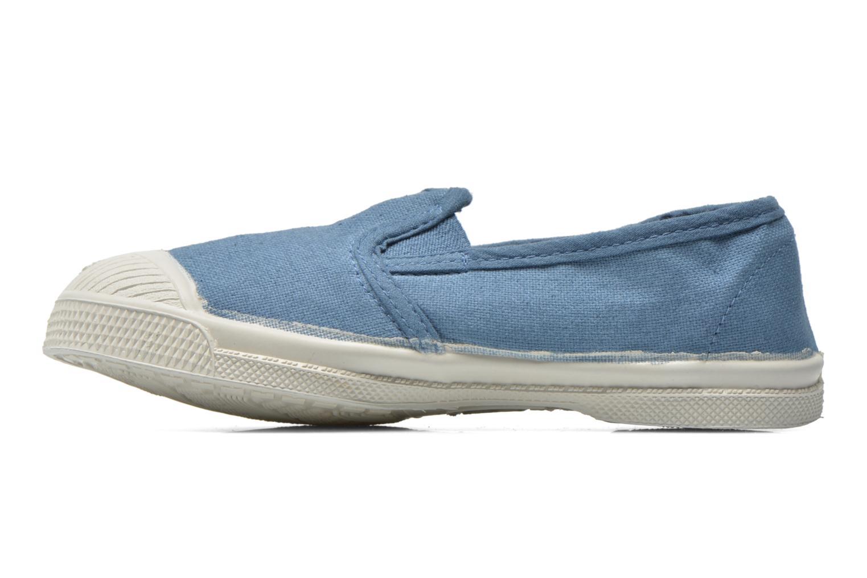 Sneaker Bensimon Tennis Tommy E blau ansicht von vorne