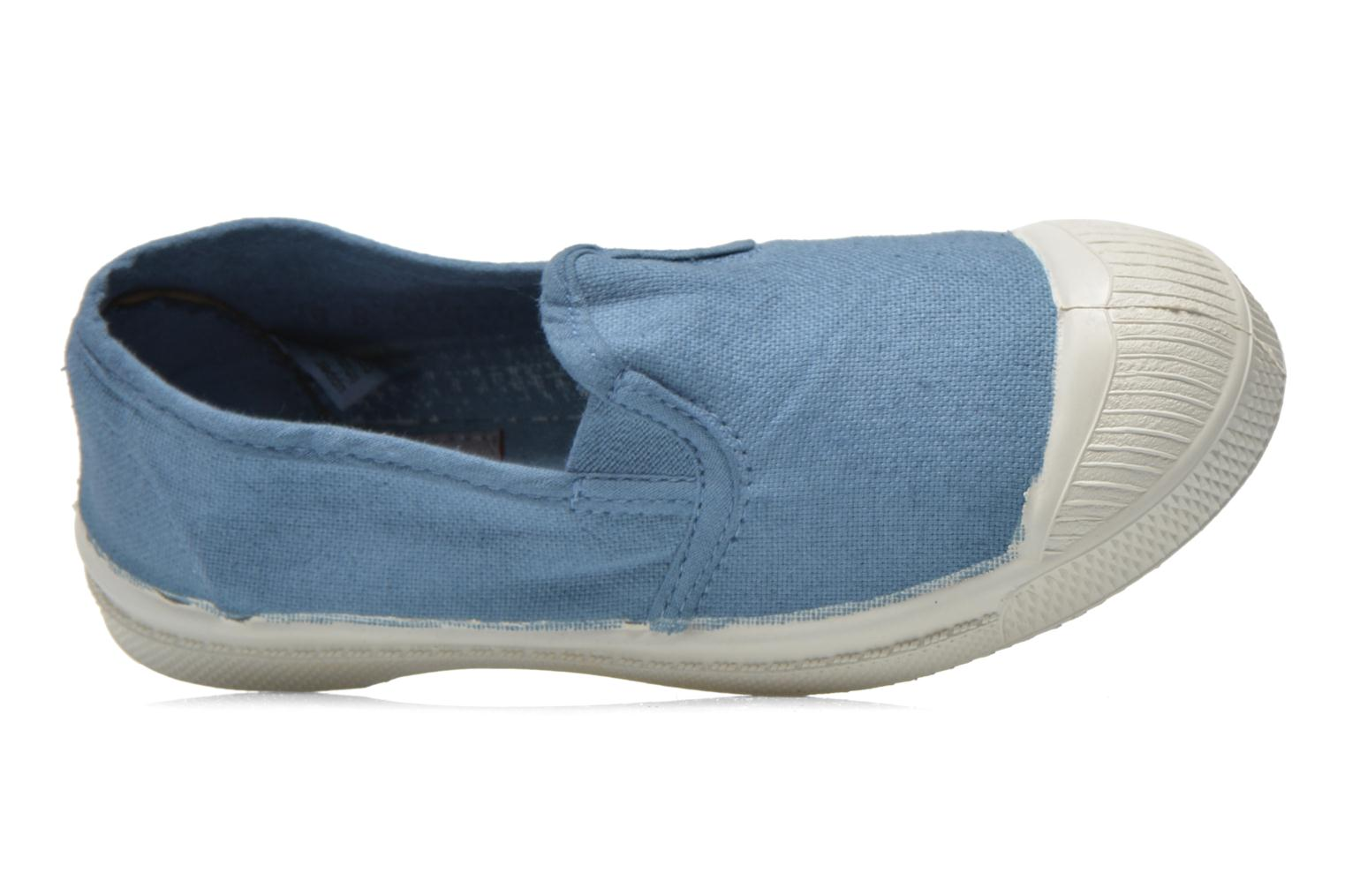 Trainers Bensimon Tennis Tommy E Blue view from the left