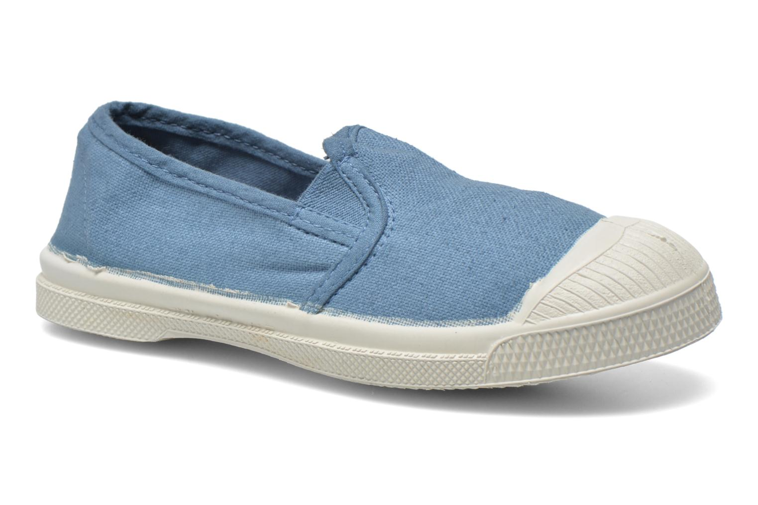 Trainers Bensimon Tennis Tommy E Blue detailed view/ Pair view