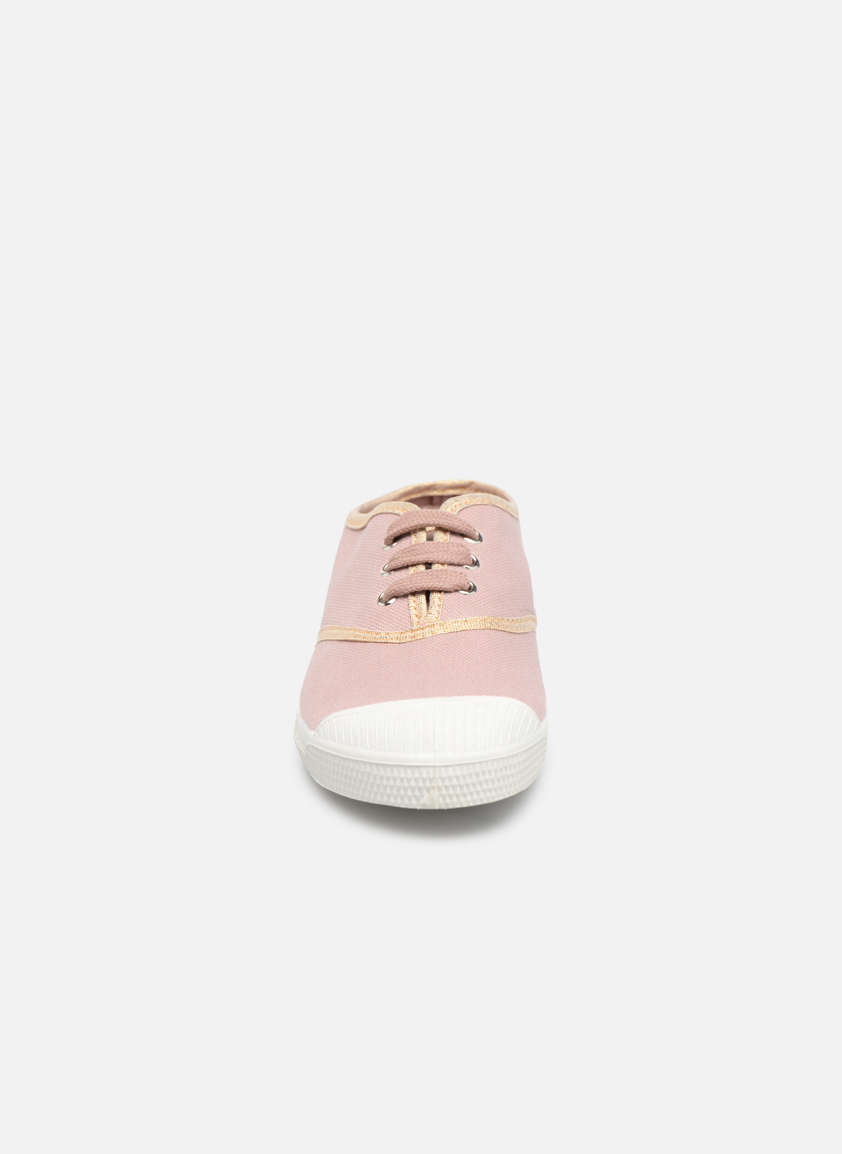 Tennis Lacets Shinypiping E Vieux rose