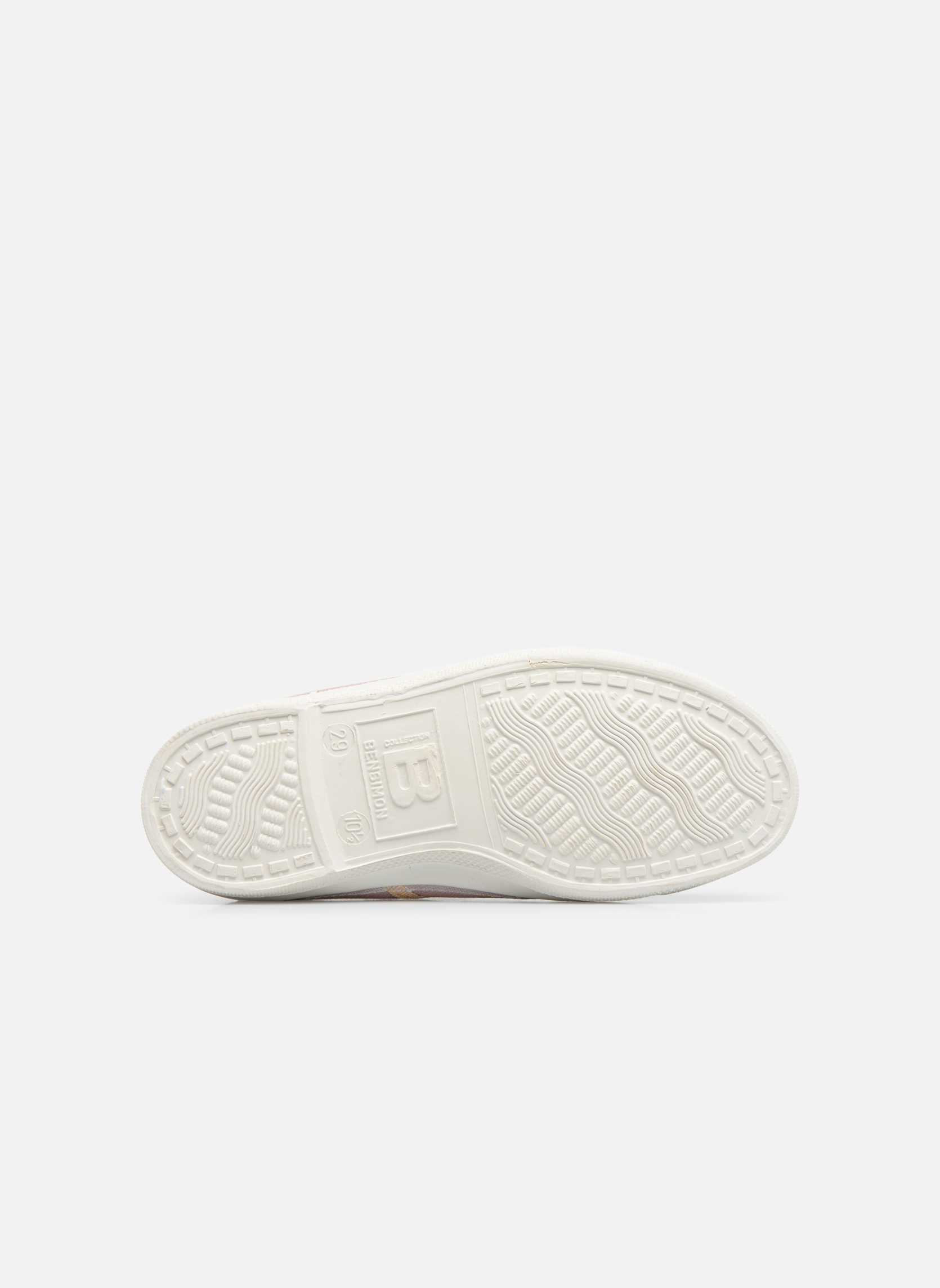 Sneakers Bensimon Tennis Lacets Shinypiping E Roze boven