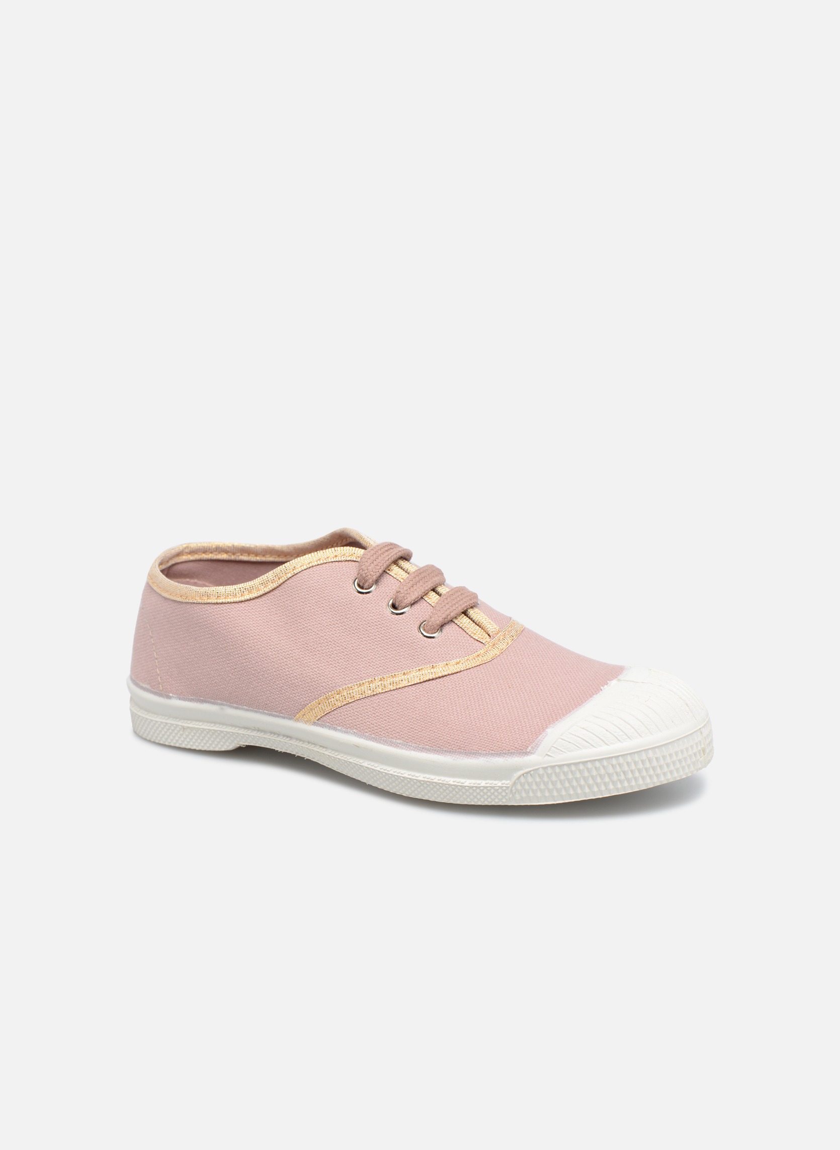 Sneaker Bensimon Tennis Lacets Shinypiping E rosa detaillierte ansicht/modell