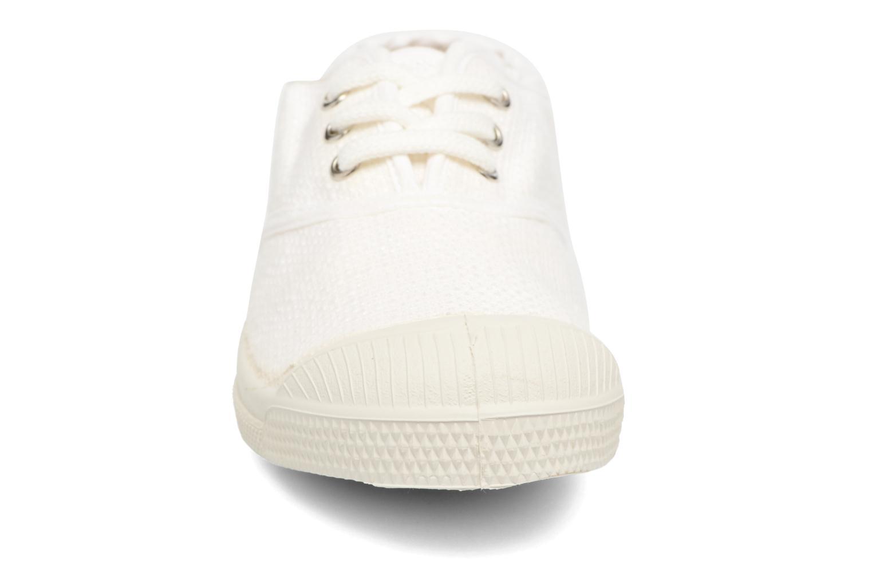 Sneakers Bensimon Tennis Lin E Vit bild av skorna på