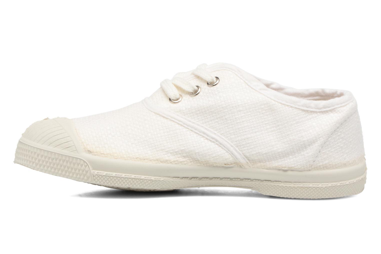 Sneakers Bensimon Tennis Lin E Vit bild från framsidan