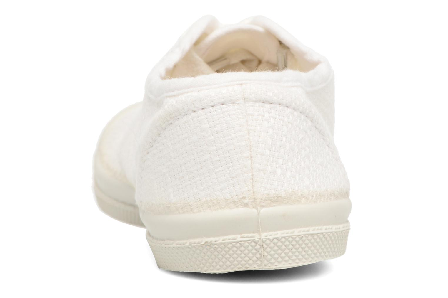 Trainers Bensimon Tennis Lin E White view from the right