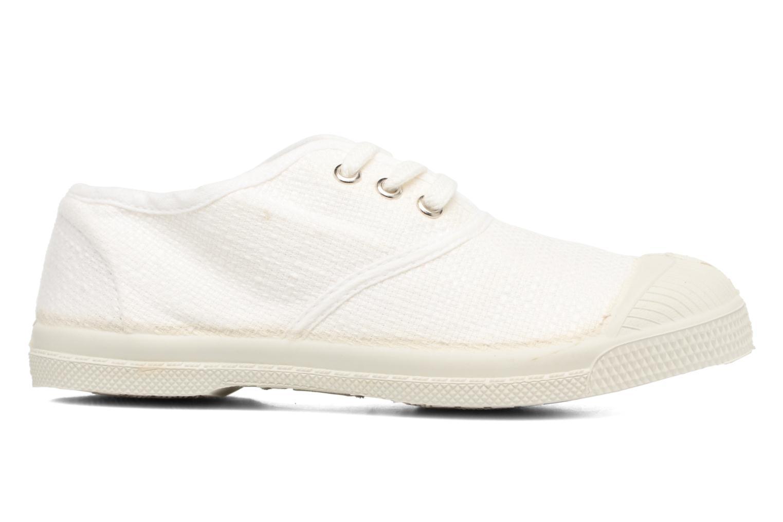 Sneakers Bensimon Tennis Lin E Vit bild från baksidan