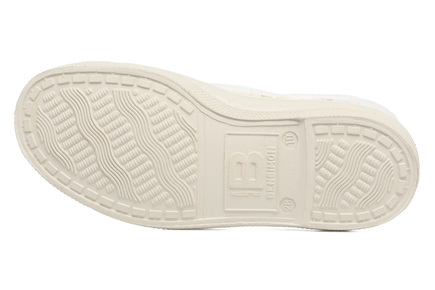 Trainers Bensimon Tennis Lin E White view from above
